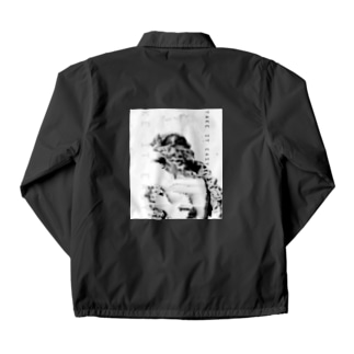 T.I.E WHITE Coach Jacket