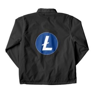 Litecoin ライトコイン コーチジャケット