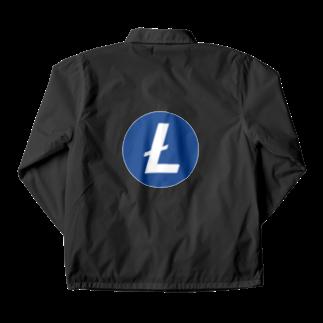 OWLCOIN ショップのLitecoin ライトコイン Coach Jacket