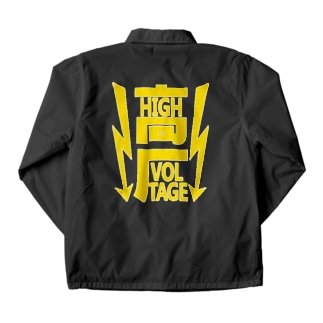 高圧 / HIGH VOLTAGE Coach Jacket