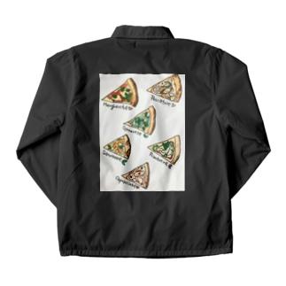 トライアングルピザ Coach Jacket