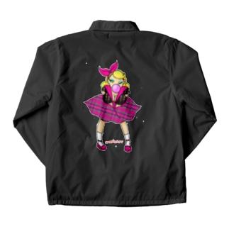 ロカビリーガールⅡ【pink】 Coach Jacket