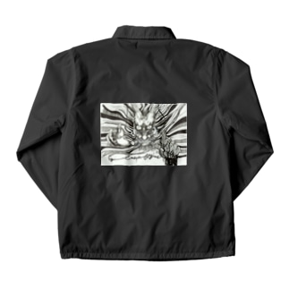 ドラゴン-Never Frogive1 Coach Jacket