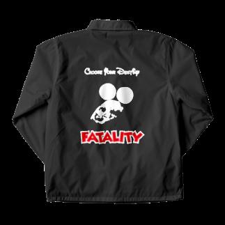 ねこのTシャツやさんのFINISH HIMからのFATALITY Coach Jacket