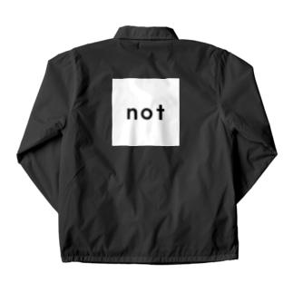 not_logo wh Coach Jacket