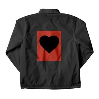 black&red Coach Jacket