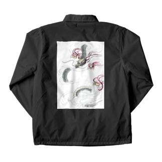 和風ドラゴン Japanese Dragon Coach Jacket