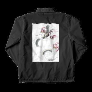 AnomaliA-Nachiの和風ドラゴン Japanese Dragon Coach Jacket