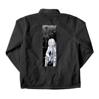 漆黒 Coach Jacket