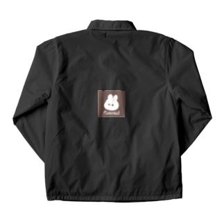 くぅもんせのナチュラルうさぎ Coach Jacket