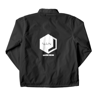 NANJCOIN公式ロゴ入り(背面白地) Coach Jacket
