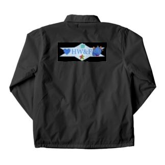 HW&Fの謎QRコード付きデザイン Coach Jacket