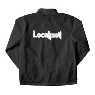 block.fmのLocalize!! Coach Jacketの裏面