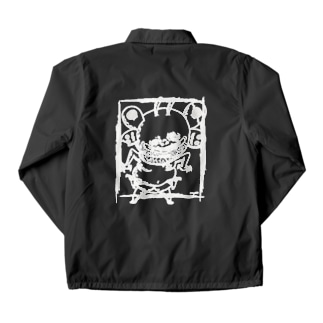 蛾のおじさん・MOTHMAN Coach Jacket