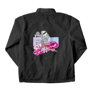 ピンクゆめかわいいパロディ Coach Jacket