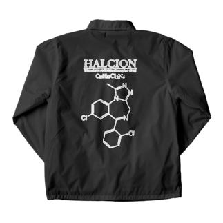ハルシオン(トリアゾラムを使用した睡眠導入剤[睡眠薬]):化学:化学構造・分子式 Coach Jacket