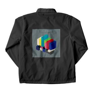 立体カラーバー Coach Jacket