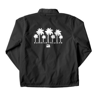 Palm tree Coach Jacket
