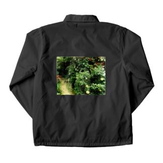 小庭のまるみサン Coach Jacket