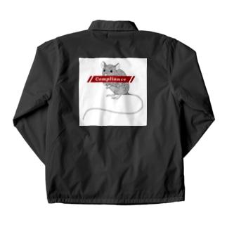 ファッ×ンラット 白枠 Coach Jacket
