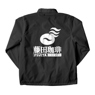 藤田珈琲 Coach Jacket