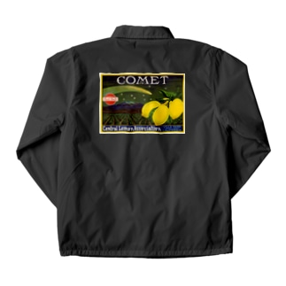 Lemon crate label, Comet brand, Western Litho. Co . Coach Jacket