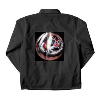 鮎の塩焼き Coach Jacket
