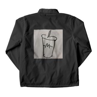 ハンバーガーショップのシェイクロゴ Coach Jacket