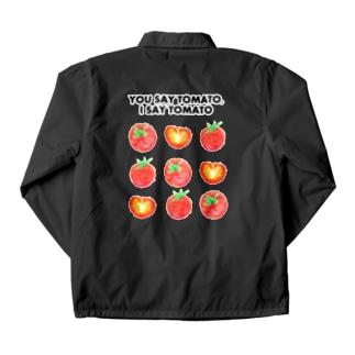 トマトデザイン「埒が明かない」 Coach Jacket
