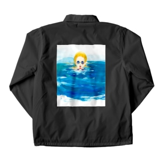 In the pool  Coach Jacket