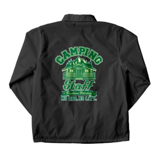 CAMPING STAFF GREEN Coach Jacket