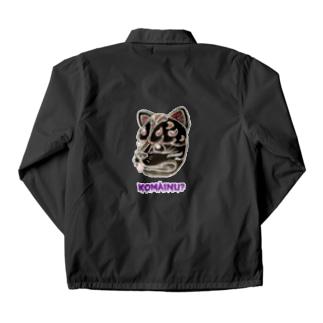 狛犬?(黒) Coach Jacket