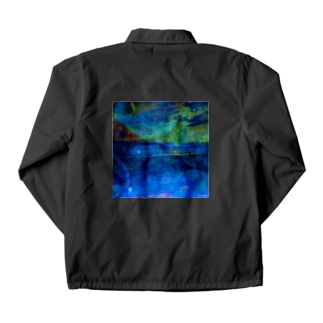 水母と海 Coach Jacket