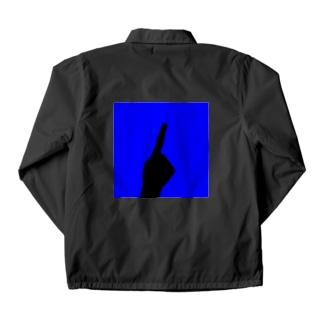 ワンハンド・ブルー Coach Jacket
