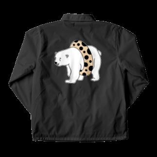 TakaJumpのTapioca White Bear Coach Jacket