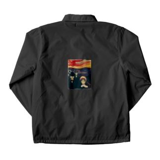 ムンク / 不安 / Anxiety / Edvard Munch / 1894 Coach Jacket