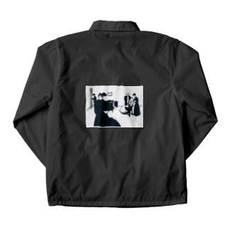 Art Baseのムンク / The Death Chamber / Edvard Munch / 1896 Coach Jacket