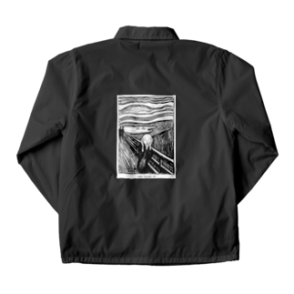 Art Baseのムンク / 叫び / The Scream / Edvard Munch / 1895 Coach Jacket