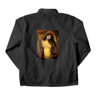 Art Baseのムンク / マドンナ / Madonna / Edvard Munch/ 1894 Coach Jacket