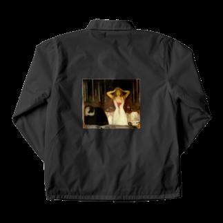 Art Baseのムンク / 灰 / Ashes / Edvard Munch / 1894 Coach Jacket