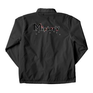 マイノリティーシャツ Coach Jacket