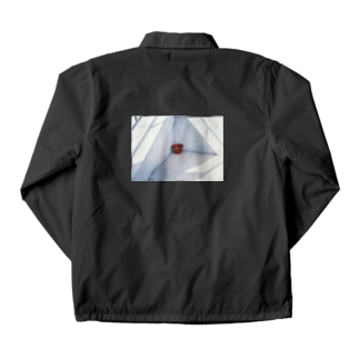Red bucket Coach Jacket