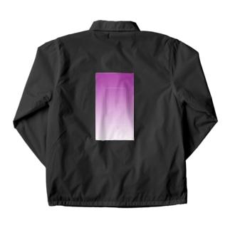 紫 Coach Jacket