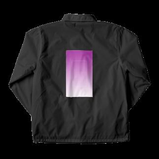 Rir_angの紫 Coach Jacket