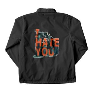I HATE YOU Coach Jacket