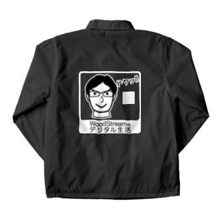 木澤君ドヤ顔 Coach Jacket