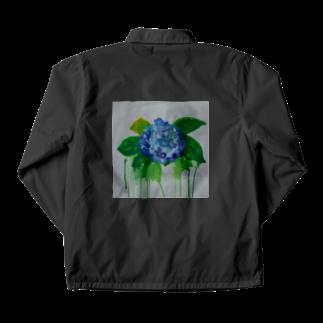 ✈オノウエ コウキの紫陽花の涙 Coach Jacket