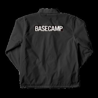 BASE-CAMPのBASE CAMP BLACK Coach Jacket