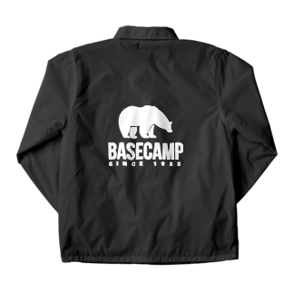 BASE-CAMPのBASE BEAR 02 WHITE Coach Jacket