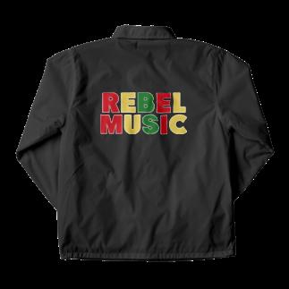 ShineのREBEL MUSIC Coach Jacket